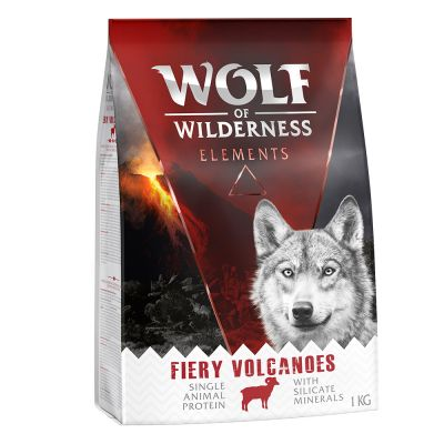 Wolf of Wilderness Elements Fiery Volcanoes con cordero