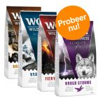 "Wolf of Wilderness ""Elements"" - gemengd probeerpakket 4 x 1 kg"