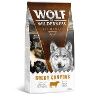 Wolf of Wilderness Elements Rocky Canyons con vacuno