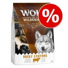 Wolf of Wilderness Elements Rocky Canyons con vacuno ¡con descuento!