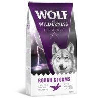 Wolf of Wilderness Elements Rough Storms con pato
