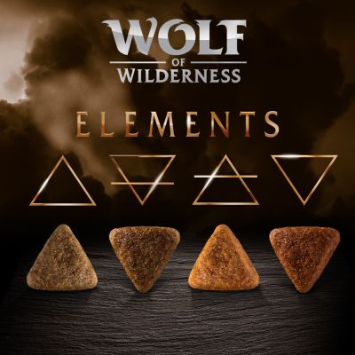 Wolf of Wilderness Elements 2 x 12 kg - Pack Ahorro