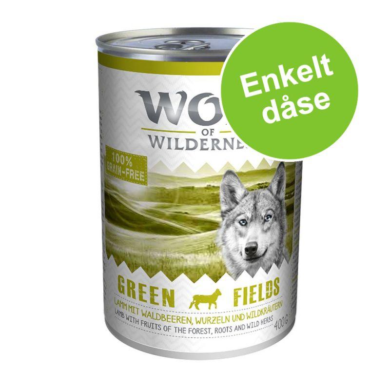 Wolf of Wilderness Enkeltdåser 1 x 400 g