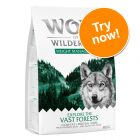 """Wolf of Wilderness """"Explore"""" Dry Dog Food Trial Pack"""