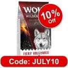 "Wolf of Wilderness ""Fiery Volcanoes"" - Lamb"