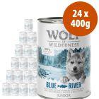 Wolf of Wilderness Free Range Junior 24 x 400 g - Pack Ahorro
