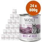 Wolf of Wilderness Free Range Senior 24 x 800 g - Pack Ahorro
