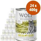 Wolf of Wilderness Free Range Senior 24 x 400 g - Pack Ahorro