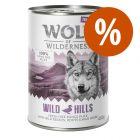 Wolf of Wilderness Free Range 6 x 400 g / 800 g ¡a precio especial!