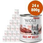 Wolf of Wilderness Free Range 24 x 800 g  - Pack Ahorro