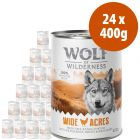 Wolf of Wilderness Free Range 24 x 400 g  - Pack Ahorro