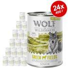 Икономична опаковка Wolf of Wilderness Free-Range Meat Senior 24 x 400 г