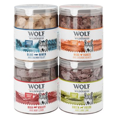Wolf of Wilderness Freeze-dried Premium Dog Snacks Trial Pack