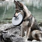 Wolf of Wilderness frisbee pro psy