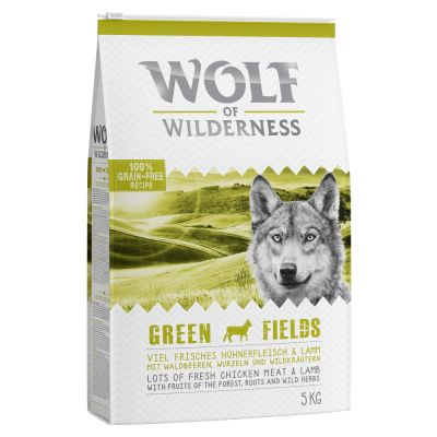 Wolf of Wilderness Green Fields - Lamb