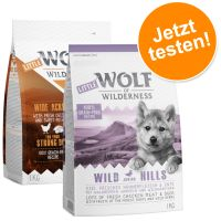 Wolf of Wilderness Junior - Probierpaket (2 x 1 kg)