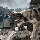 Wolf of Wilderness jutalomfalat/eledel tartó