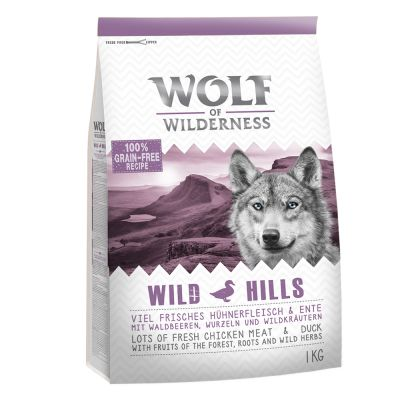 Wolf of Wilderness 3 kg en oferta: 2 + 1 ¡gratis!