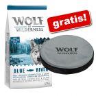 Wolf of Wilderness 12 kg + frisbee imprimat cu Wolf of Wilderness gratis!