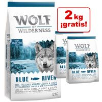 Wolf of Wilderness 14 kg pienso en oferta: 12 + 2 ¡gratis!