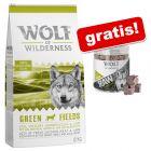 Wolf of Wilderness: 12 kg Trockenfutter + Snack gratis!