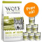 Wolf of Wilderness 12 kg tørrfòr + 6 x 400 g våtfòr
