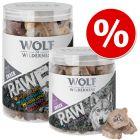 Wolf of Wilderness -lajitelma, kylmäkuivatut laadukkaat välipalat