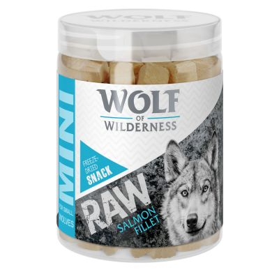 Wolf of Wilderness Mini RAW Snacks (liofilizados)