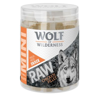 Wolf of Wilderness Mini RAW Snacks (liofilizate)