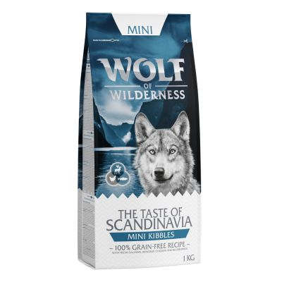 Wolf of Wilderness Mini-croquettes The Taste Of pour chien