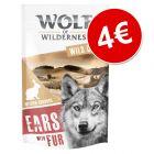 Wolf of Wilderness orejas de conejo con pelo ¡por oslo 4€!
