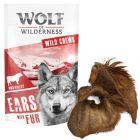 Wolf of Wilderness orejas de vacuno con pelo