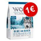 Wolf of Wilderness pienso para perros ¡por solo 1€!
