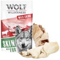 Wolf of Wilderness - Proteinsnack - Rinderhaut mit Fell