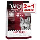 Wolf of Wilderness ração 3 kg em promoção: 2 kg + 1 kg grátis