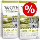 Wolf of Wilderness ração para cães 2 x 12 kg - Pack económico