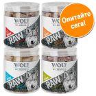 Wolf of Wilderness - RAW сушени чрез замразяване лакомства смесена опаковка