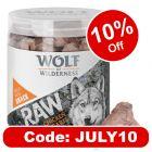 Wolf of Wilderness RAW Freeze-dried Snacks