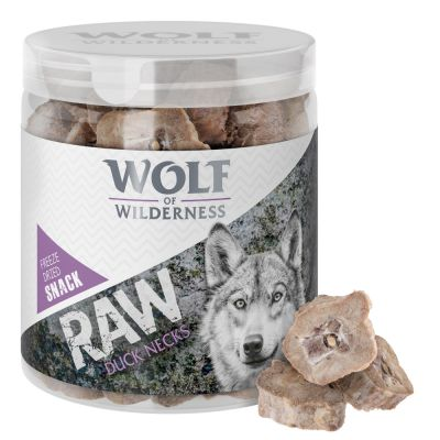 Wolf of Wilderness RAW Freeze-dried Snacks Saver Packs