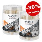 Wolf of Wilderness RAW Friandises lyophilisées 2 x 110 g : - 30 % sur la 2ème boîte !