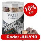 Wolf of Wilderness RAW 5 Mix Freeze-dried Snacks