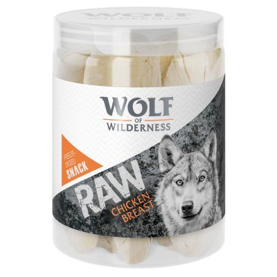 Wolf of Wilderness RAW Snack - File din piept de pui (liofilizat)
