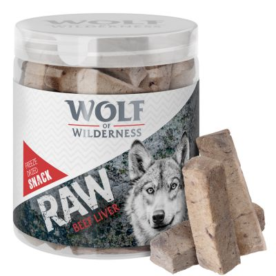 Wolf of Wilderness RAW snacks liofilizados - Pack de prueba mixto (4 tipos)