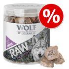 Wolf of Wilderness RAW Snacks liofilizados para cães em promoção!