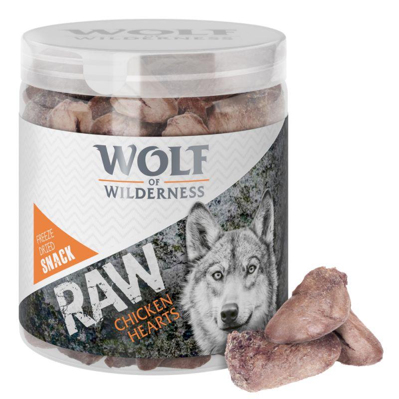 Wolf of Wilderness RAW snacks liofilizados premium