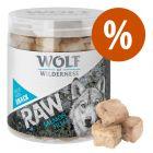 Wolf of Wilderness RAW snacks liofilizados premium ¡a un precio especial!