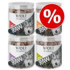 Wolf of Wilderness RAW snacks liofilizados premium - Pack Ahorro 4 unidades