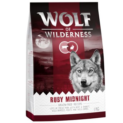 Wolf of Wilderness Ruby Midnight con vacuno y conejo
