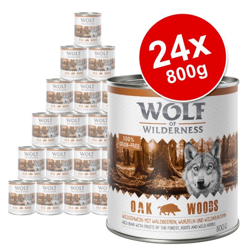 Wolf of Wilderness Saver Pack 24 x 800g