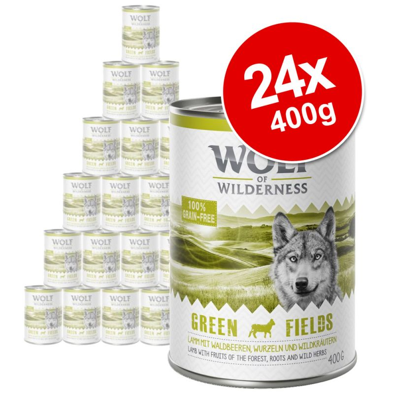 Wolf of Wilderness Saver Pack 24 x 400g